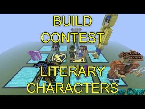 Minecraft Build Contest - Literary Characters - Results