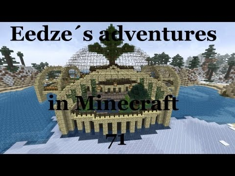 Eedze's adventures in Minecraft. NPC's new home megabuild special!