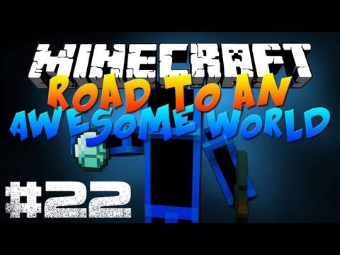 Road to an Awesome World - Episode 22 - 'Enderman farm is a go'
