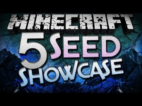 Minecraft: 1.3 Seeds - 5 Seed Showcase - Epic Mountain Formations!