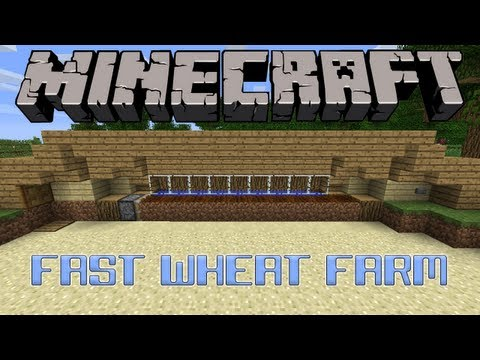 Fast Wheat Farm For 1.3 Tutorial