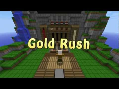 Gold Rush! [Minecraft Redstone Mini Game]