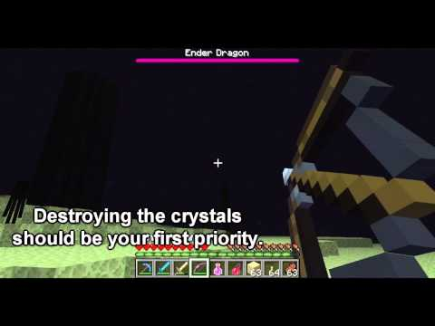 Minecraft Mob Guide - The Enderdragon